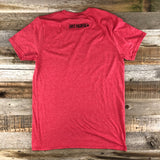 Men's Logo Tee- Heather Red