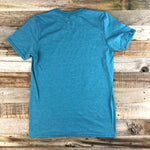 Men's Go Rope Steer Tee- Azul
