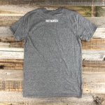 Men's Steer Sunset Tee- Heather Grey