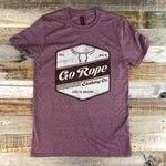 Unisex Heather Maroon Tee