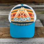 Thunderbird Trucker Hat - Teal