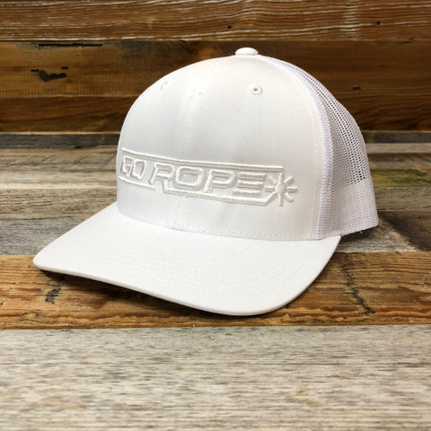 Big Spur 3D Trucker Hat - WHITEOUT