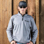 Men's Superior Pullover 1/4 Zip- Steel