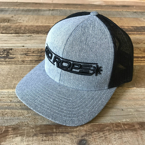 Heathered Gray 3D Logo Hat