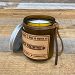 NEW Go Rope Leather Candle