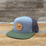 Go Ranch • Go Ride Leather Patch Hat • Tri Color