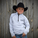 Youth 1/4 Zip Sweater - 2 Colors