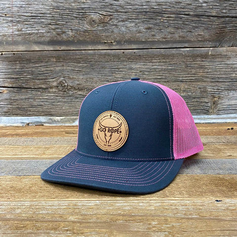 Go Ranch • Go Ride Leather Patch Hat
