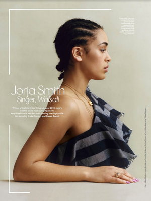 Jorja Smith for ELLE UK