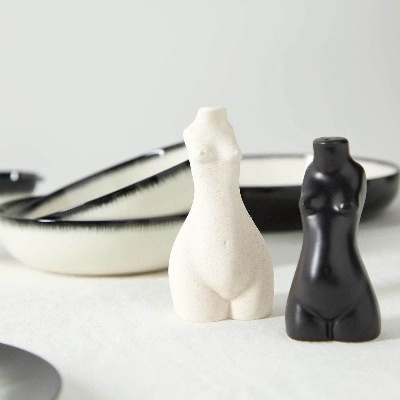 Tit for Tat Salt & Pepper Shakers