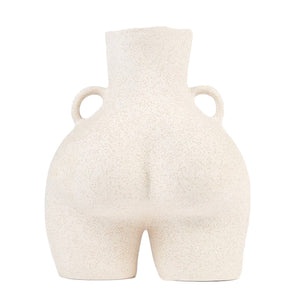 Love Handles Vase Beige Speckled