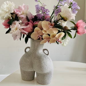 Love Handles Vase Grey Speckled
