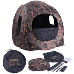 Costway Portable Hunting Blind Pop Up Ground - (Col: Hunting)