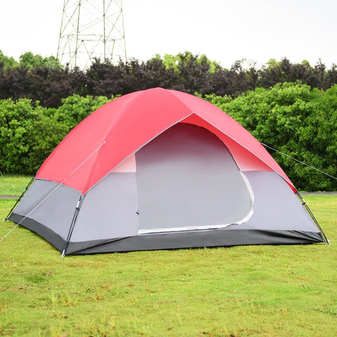 6 Persons Pop Up Easy Set-up Camping - (Col: Tents)