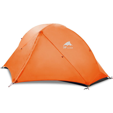 1 Person 3 Seasons Double Layer Camping - (Col: Tents)