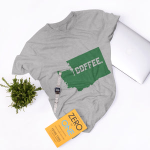 COFFEE - WASHINGTON - Tri-Blend T-Shirt