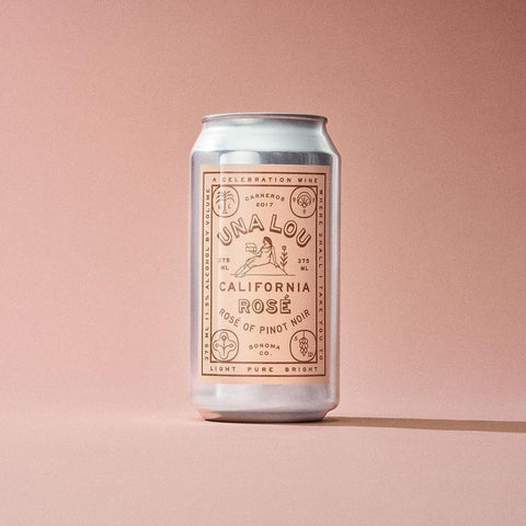 Una Lou Rosé 12oz Can