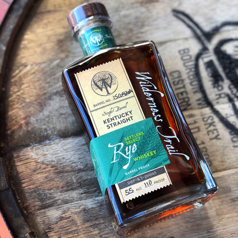Wilderness Trail Single Barrel Straight Rye Whiskey