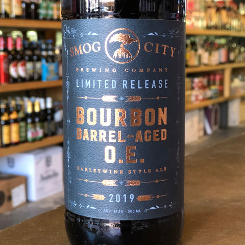 Smog City Bourbon Barrel-Aged O.E.