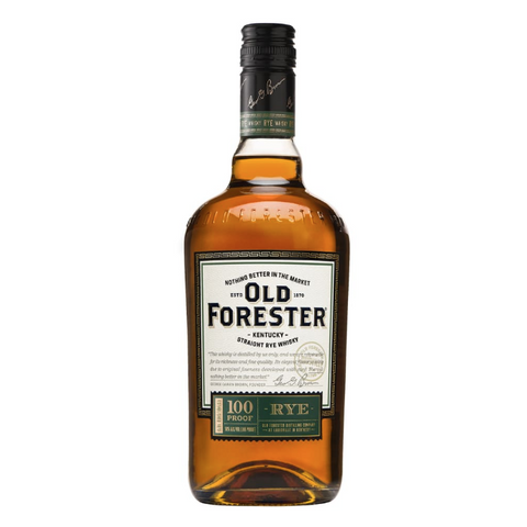 Old Forester 100 Proof Rye