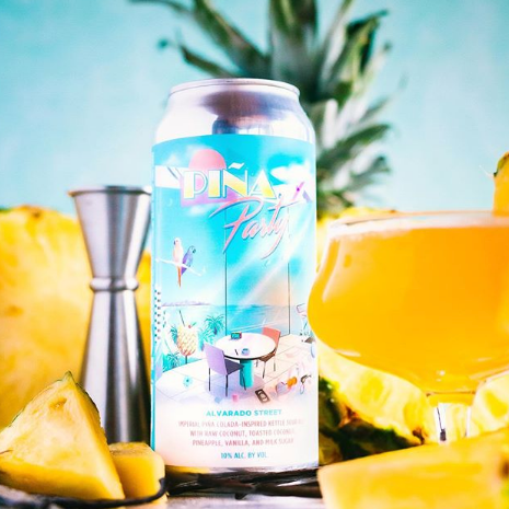 Alvarado Street Piña Party 16oz Can - Lock and Key