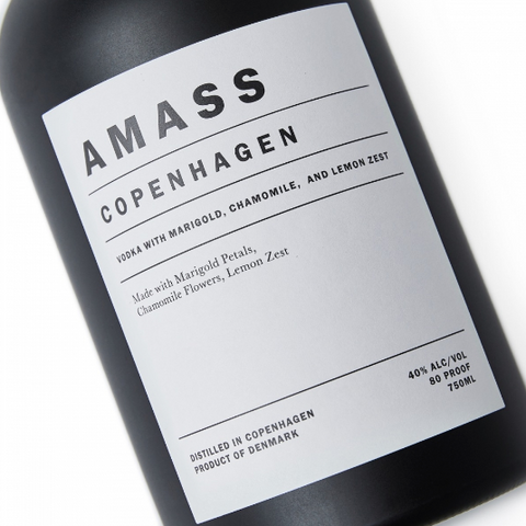 AMASS Botanic Vodka 750ml
