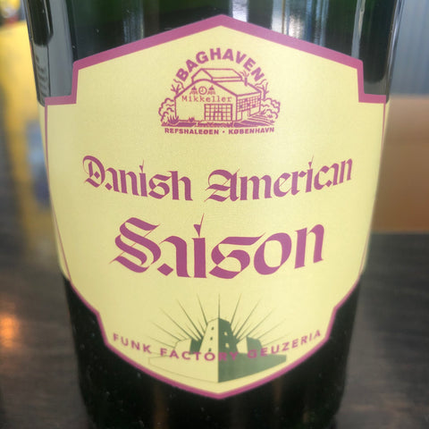 "Funk Factory ""Danish American Saison"" - Lock & Key"