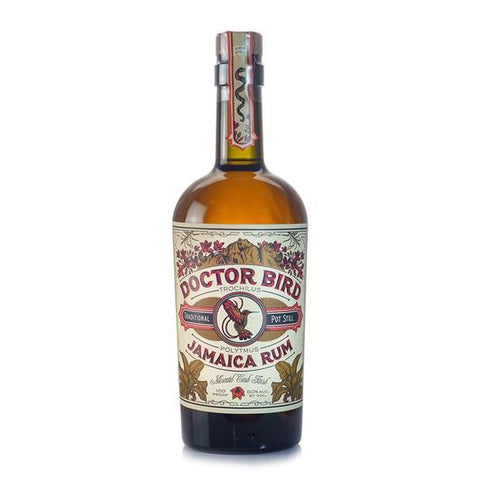 Two James Doctor Bird Jamaica Rum 750ml