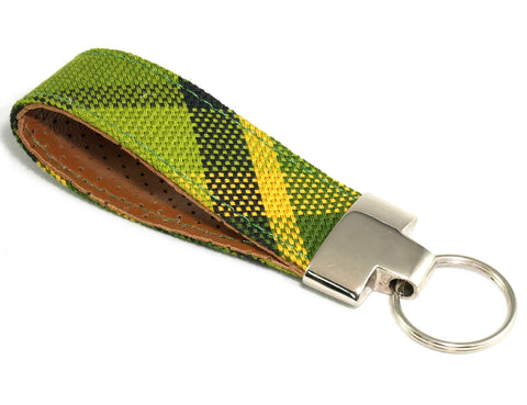 VW Westfalia Green keychain