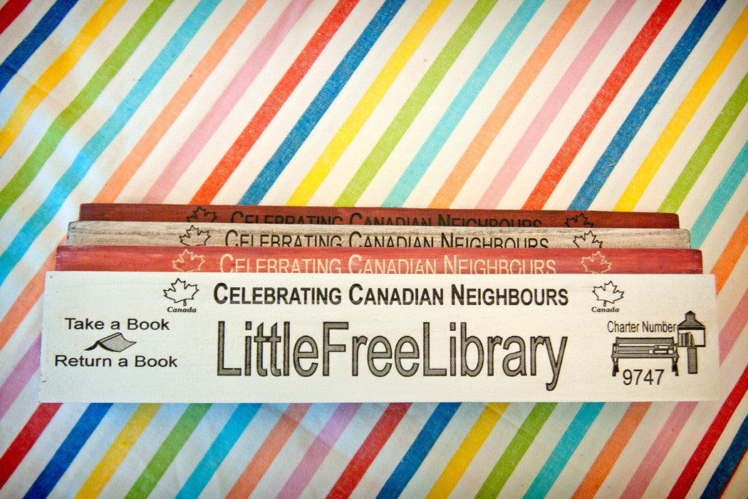 Little Free Library Signs