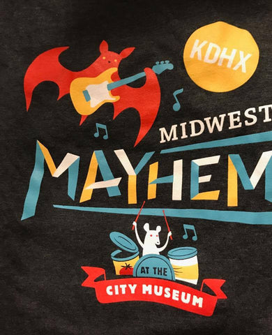 Midwest Mayhem City Museum T Shirt