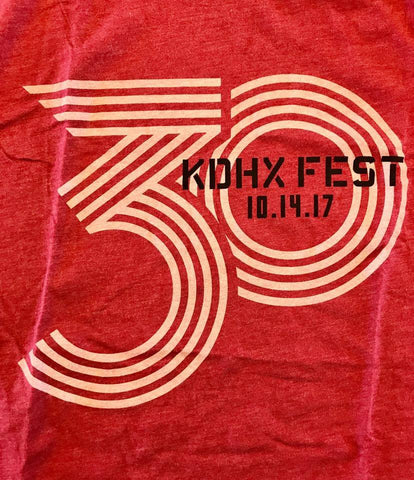 KDHX 30th Birthday Logo T-Shirt