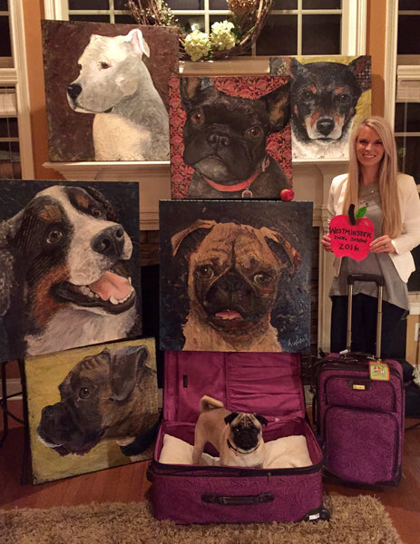 Collage-A-Pet is going to the 2016 Westminster Kennel Club Dog Show in NYC!!!
