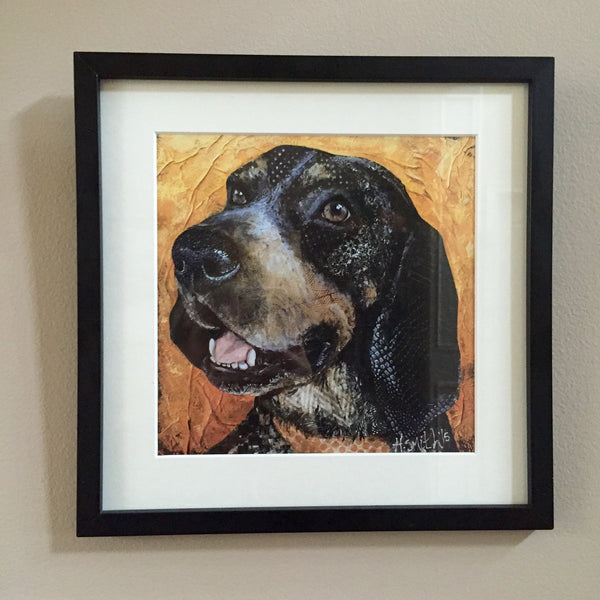 "The ""Bluetick Hound"" Print is READY!"