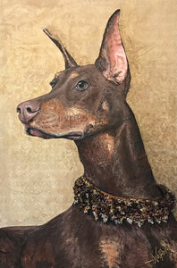 Covergirl - Doberman Pinscher