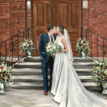 Painting From Wedding Photo - Wagner