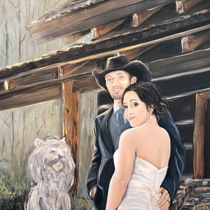 Painting from Wedding Photo Feb. 2019