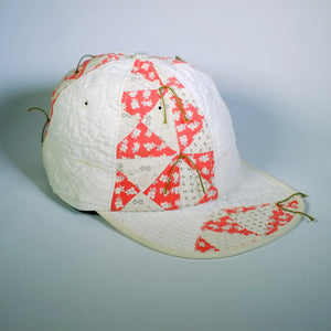 "Tied Quilt Cap-""Waste Not"""