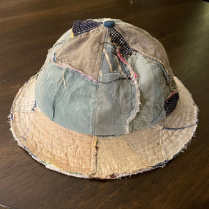 Six Panel Inside Out Quilt Bucket Hat