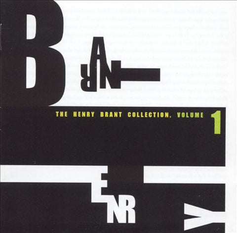 Henry Brant Collection Vol. 1