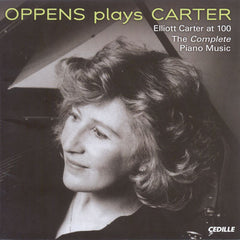 Ursula Oppens: Oppens plays Carter