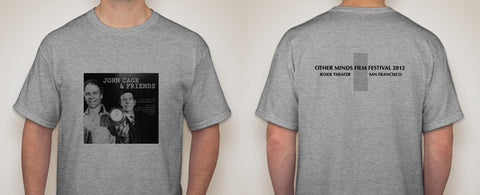 John Cage & Friends T-shirt (OM Film Festival)