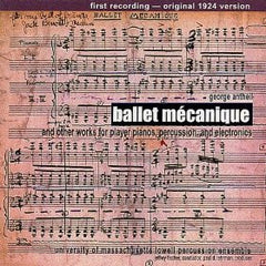 Ballet Mécanique: University of Massachusetts Lowell Percussion Ensemble