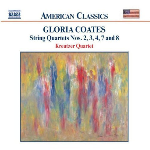 Gloria Coates: String Quartets No. 2, 3, 4, 7, 8