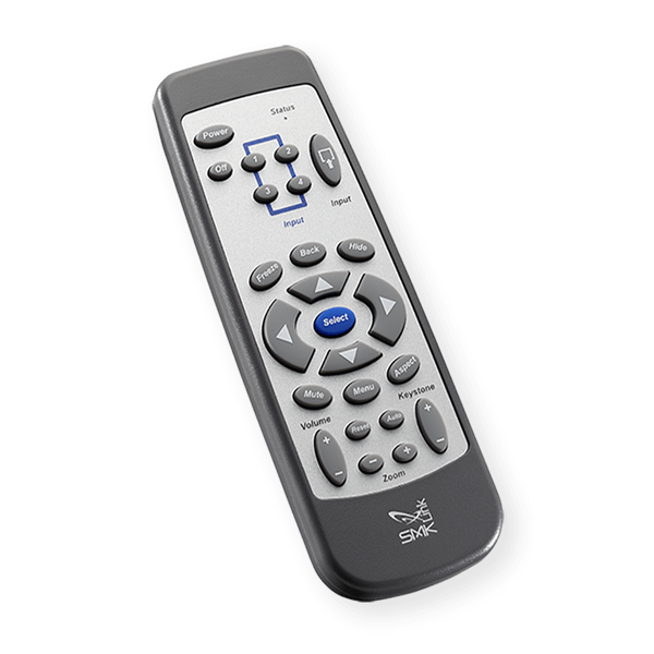 Universal Projector Remote Control For LCD And DLP
