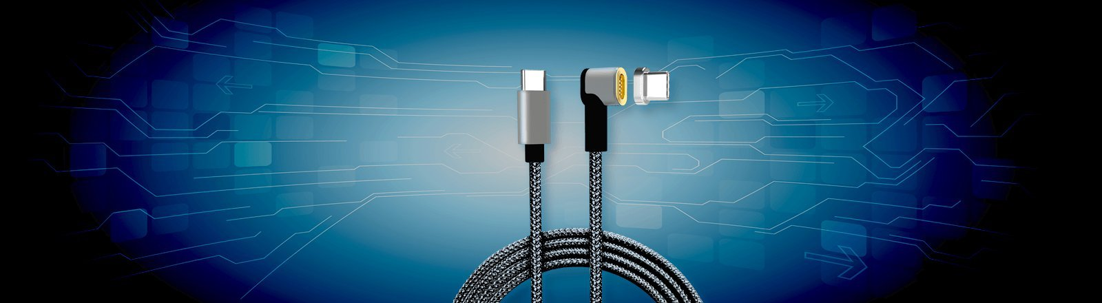 VP7000 MagTech Charging Cable