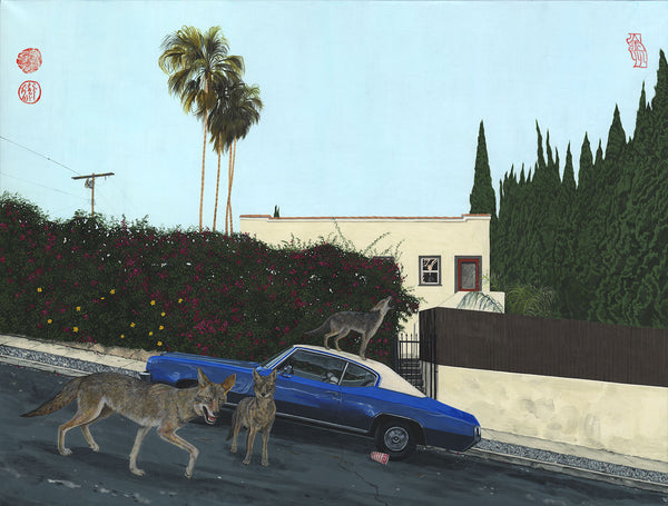 """Coyote Street Gang"" Limited Edition Archival Print"