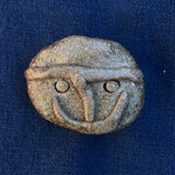 Ancient Face ceramic pin #11