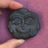 Ancient Face ceramic pin #18