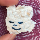 Ancient Face ceramic pin #28